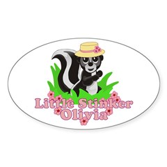 Little Stinker Olivia Decal