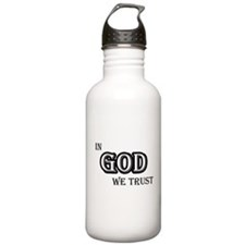 In God We Trust Water Bottle