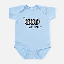 In God We Trust Infant Bodysuit