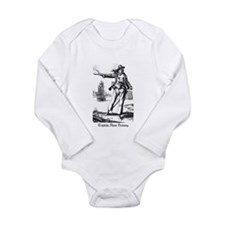 Pirate Anne Bonney Long Sleeve Infant Bodysuit