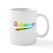 Arkansas Rainbow Vintage Mug