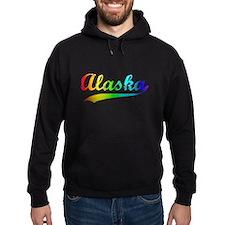Alaska Rainbow Vintage Hoodie