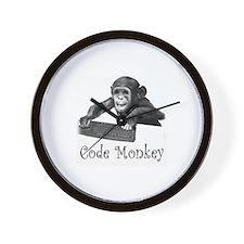 Cute Cute monkey Wall Clock