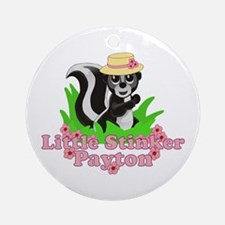 Little Stinker Payton Ornament (Round)