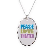 Peace Love Theater Necklace