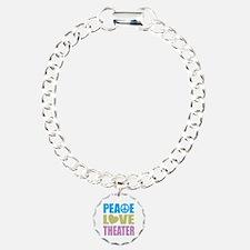 Peace Love Theater Bracelet