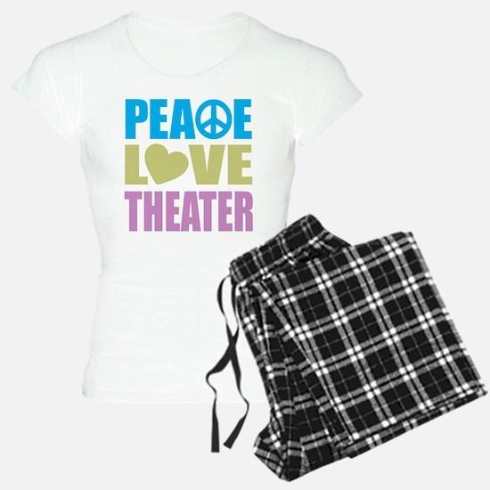 Peace Love Theater pajamas