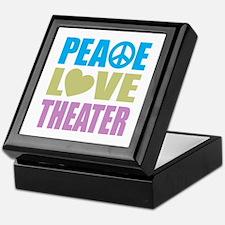 Peace Love Theater Keepsake Box