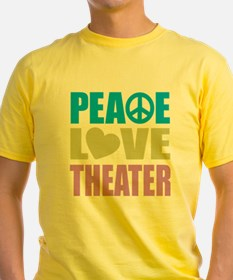 Peace Love Theater T