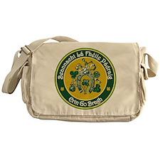St Patrick's Day Messenger Bag
