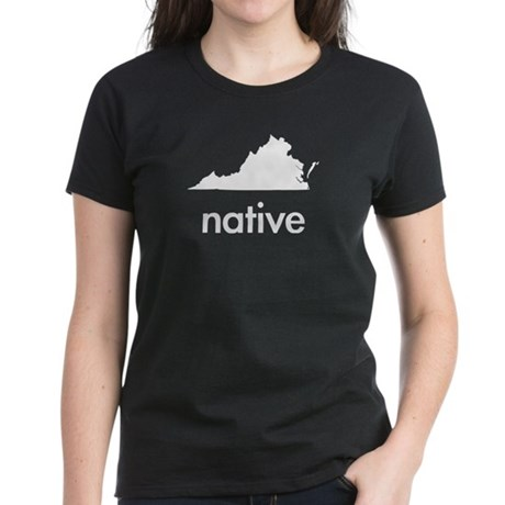 Virginia Native Women's Dark T-Shirt