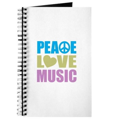 Peace Love Music Journal
