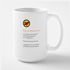 Down for Maintenance Large Mug