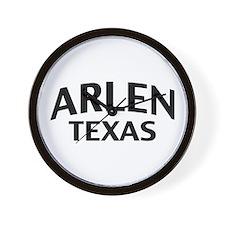 Arlen Texas Wall Clock