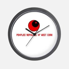 PEOPLES REPUBLIC OF WEST CORK WALL CLOCK