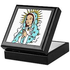 Virgin Mary Keepsake Box