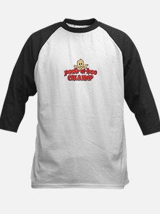 Peek-A-Boo Champ Kids Baseball Jersey