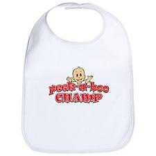 Peek-A-Boo Champ Bib