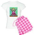 Dancing Cat Women's Light Pajamas