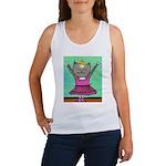 Dancing Cat Women's Tank Top