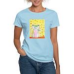 Muffy, the Poker Cat Women's Light T-Shirt