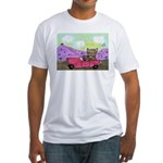 Tiger Takes a Trip Fitted T-Shirt