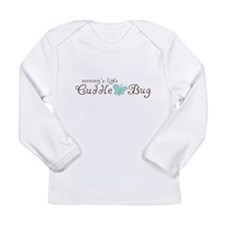 Mommy's Little Cuddle Bug Long Sleeve Infant T-Shi