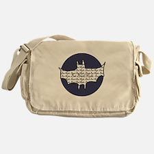 Bat Moon Messenger Bag