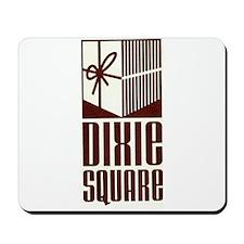 Dixie Square Brown Logo Mousepad