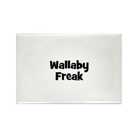 Wallaby Freak Rectangle Magnet (10 pack)