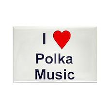 """Slovenia-I Love Polka Music Magnet (3""""x2"""")"""