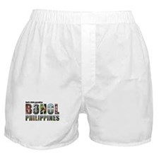 Black Border Text Boxer Shorts