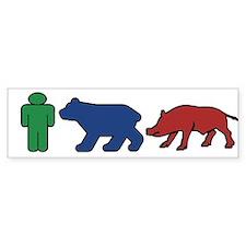 ManBearPig Bumper Sticker