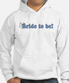 Blue/Violet Bride to Be Hoodie