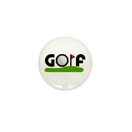 'Golf' Mini Button (10 pack)