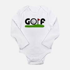 'Golf' Long Sleeve Infant Bodysuit
