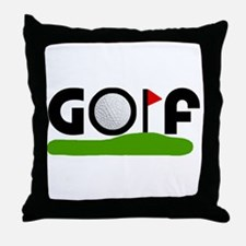 'Golf' Throw Pillow