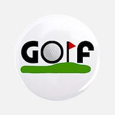 "'Golf' 3.5"" Button"