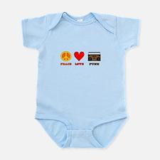 Peace Love Funk Infant Bodysuit