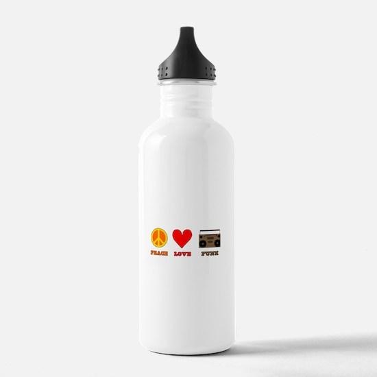 Peace Love Funk Water Bottle