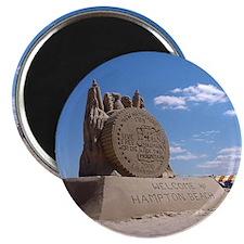 NH Sand Quarter Magnet