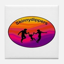 Skinnydipper Logo Tile Coaster