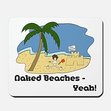Naked Beaches - Yeah! Mousepad