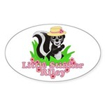 Little Stinker Riley Sticker (Oval)