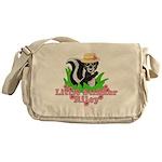 Little Stinker Riley Messenger Bag