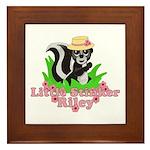 Little Stinker Riley Framed Tile