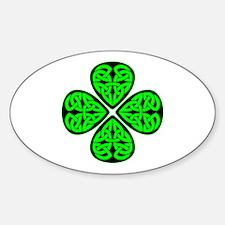 4 Leaf Celtic Decal