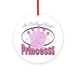Princess Ornament (Round)