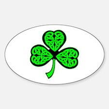 3 Leaf Celtic Decal