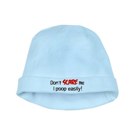 Don't scare me baby hat